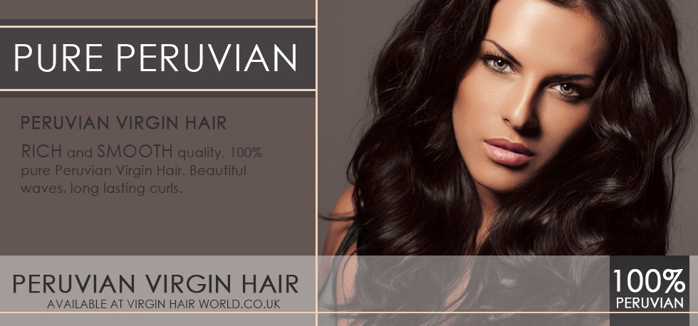pure Peruvian virgin hair banner