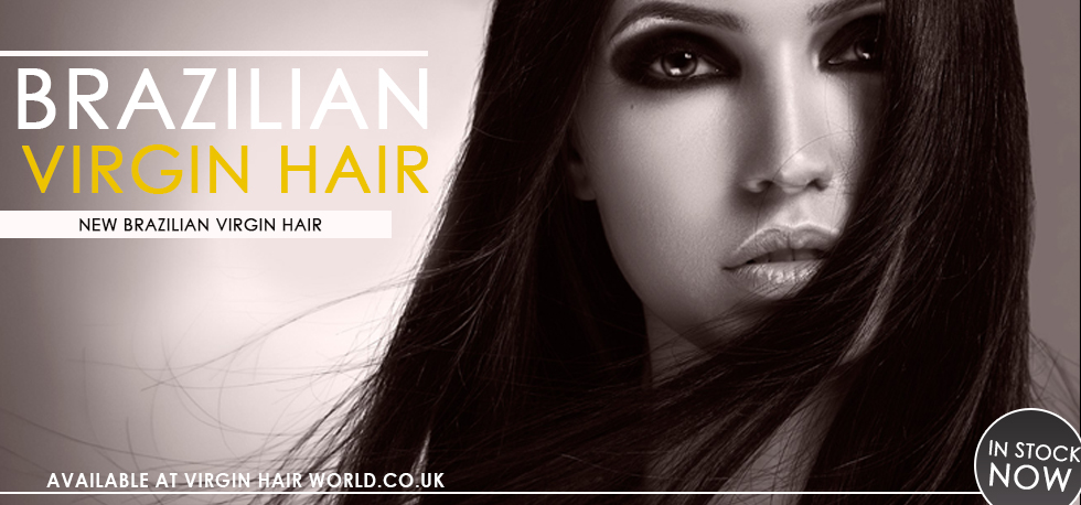 Brazilian virgin hair banner